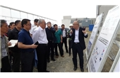 CPPCC Research Team Visit Huaqiang Zhaoyang Clean Energy Project in Zhangbei